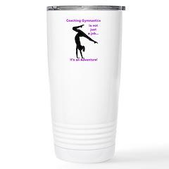 Gymnastics Coach Travel Mug
