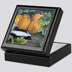 Trick or Treat Skunk Mouse Keepsake Box