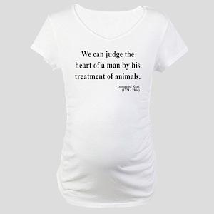 Immanuel Kant 4 Maternity T-Shirt