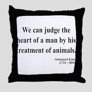 Immanuel Kant 4 Throw Pillow