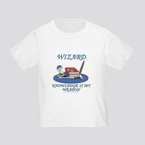 Knowledge Is My Weapon Toddler T-Shirt