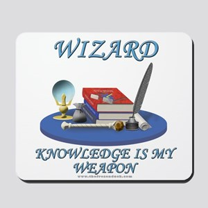 Knowledge Is My Weapon Mousepad