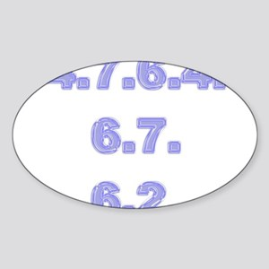 Stationery - GSOH (SMS) Oval Sticker