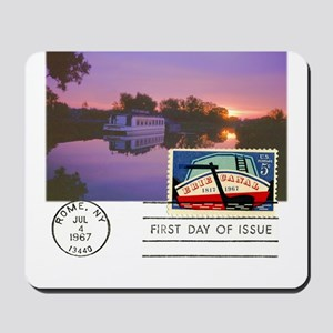 Erie Canal Mousepad