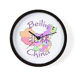 Beilin China Map Wall Clock