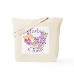 Harbin China Map Tote Bag