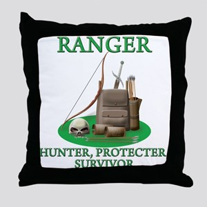 Ranger Code Throw Pillow
