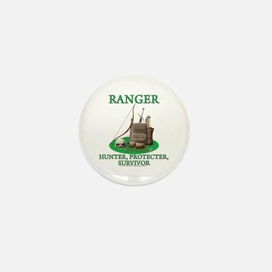 Ranger Code Mini Button