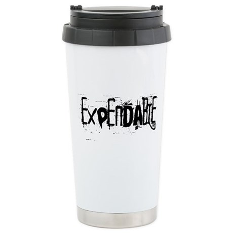 Expendable Stainless Steel Travel Mug