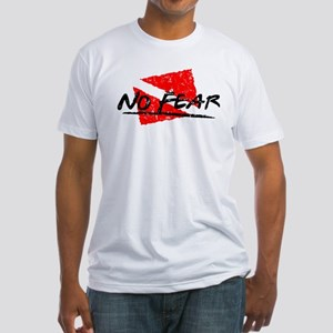 No Fear Dive Flag Fitted T-Shirt