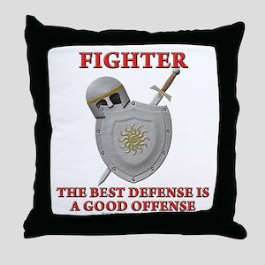 Best Defense Throw Pillow