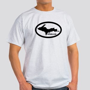 UP Michigan's Upper Peninsula Light T-Shirt