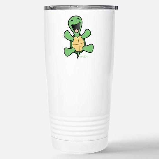 Skuzzo Happy Turtle Stainless Steel Travel Mug