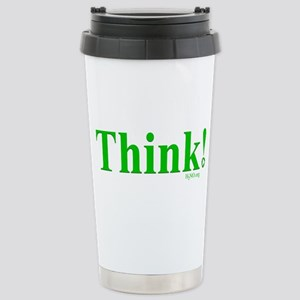 Think! Stainless Steel Travel Mug