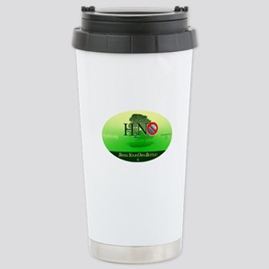 H2NO.org Stainless Steel Travel Mug