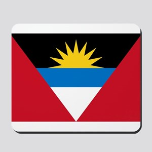 Flag of Flag of Antigua and Barbuda Mousepad