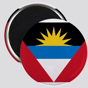 Flag of Flag of Antigua and Barbuda Magnet