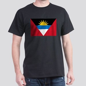 Flag of Flag of Antigua and Barbuda Dark T-Shirt