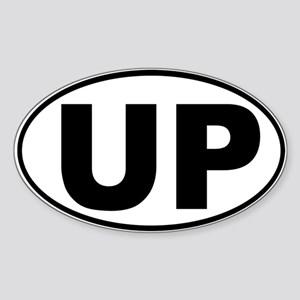 The UP basic Oval Sticker