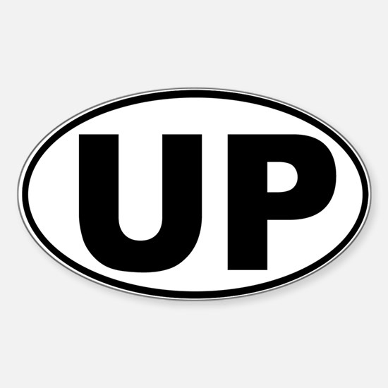 The UP basic Oval Decal
