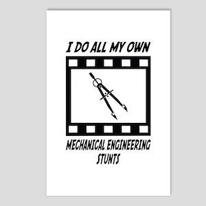Mechanical Engineering Stunts Postcards (Package o