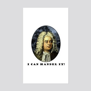 I Can Handel It Rectangle Sticker