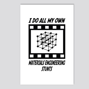 Materials Engineering Stunts Postcards (Package of