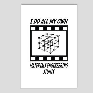 Materials Engineering Stunts Postcards (Package of