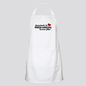 Somebody in North Carolina Loves me BBQ Apron