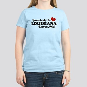 Somebody in Louisiana Loves me Women's Light T-Shi