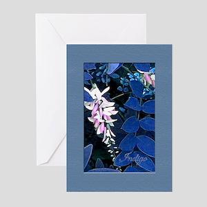 Indigo Plant Greeting Cards (Pk of 10)