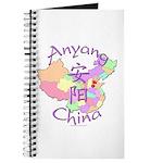 Anyang China Map Journal