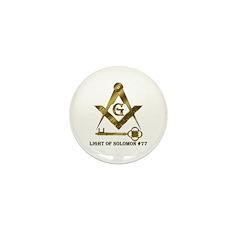 Light of Solomon #77 Mini Button (100 pack)