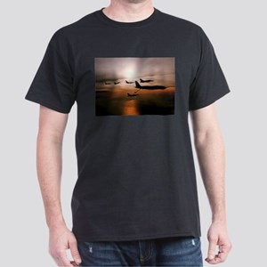 F-16 Falcons Refueling Dark T-Shirt