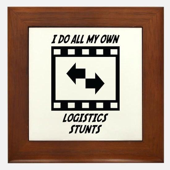 Logistics Stunts Framed Tile