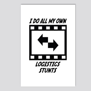 Logistics Stunts Postcards (Package of 8)