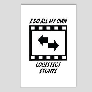 Logistics Stunts Postcards (Package of 8)