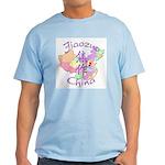 Jiaozuo China Map Light T-Shirt