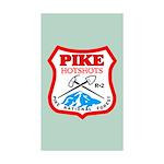 Ten Pike Hotshots Stickers