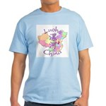 Luohe China Map Light T-Shirt