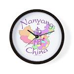 Nanyang China Map Wall Clock