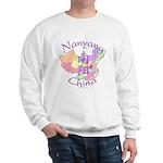 Nanyang China Map Sweatshirt