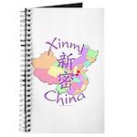 Xinmi China Map Journal