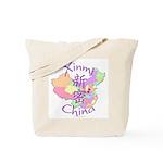 Xinmi China Map Tote Bag