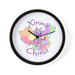 Xinmi China Map Wall Clock