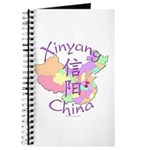 Xinyang China Map Journal
