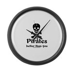 Better Than You Large Wall Clock