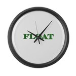 Float Large Wall Clock
