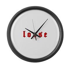Loose Large Wall Clock