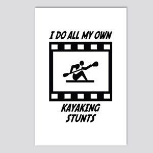 Kayaking Stunts Postcards (Package of 8)